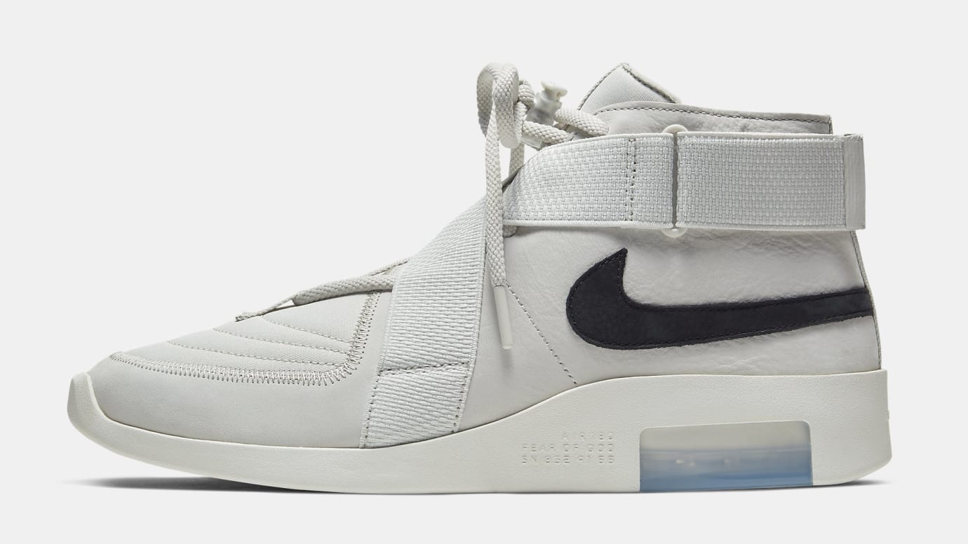 Nike Air Fear of God 180 'Grey' AT8087-001 Lateral
