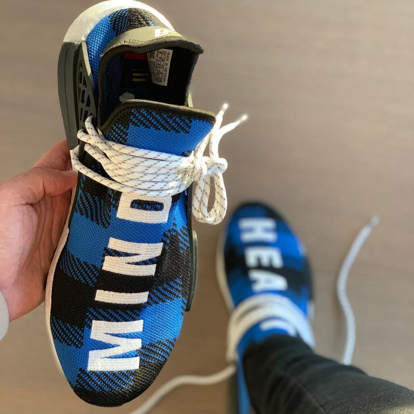 pretty nice 75a2a 96383 BBC x Adidas Pharrell NMD 'Heart' 'Mind' 2019 Release Date ...