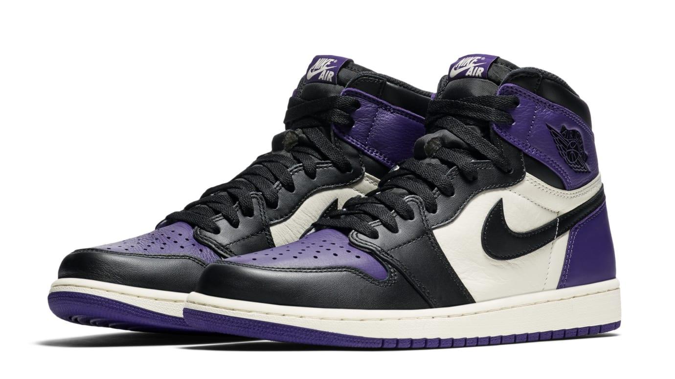Air Jordan 1 High OG 'Court Purple' 555088-501 (Pair)