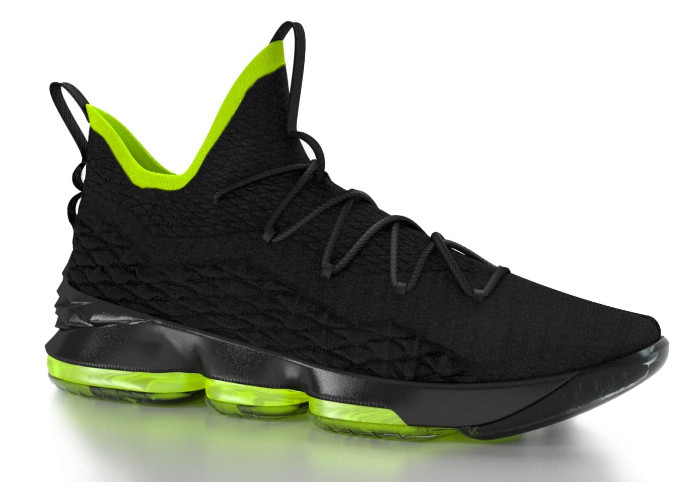 Nike LeBron 15 Black/Volt
