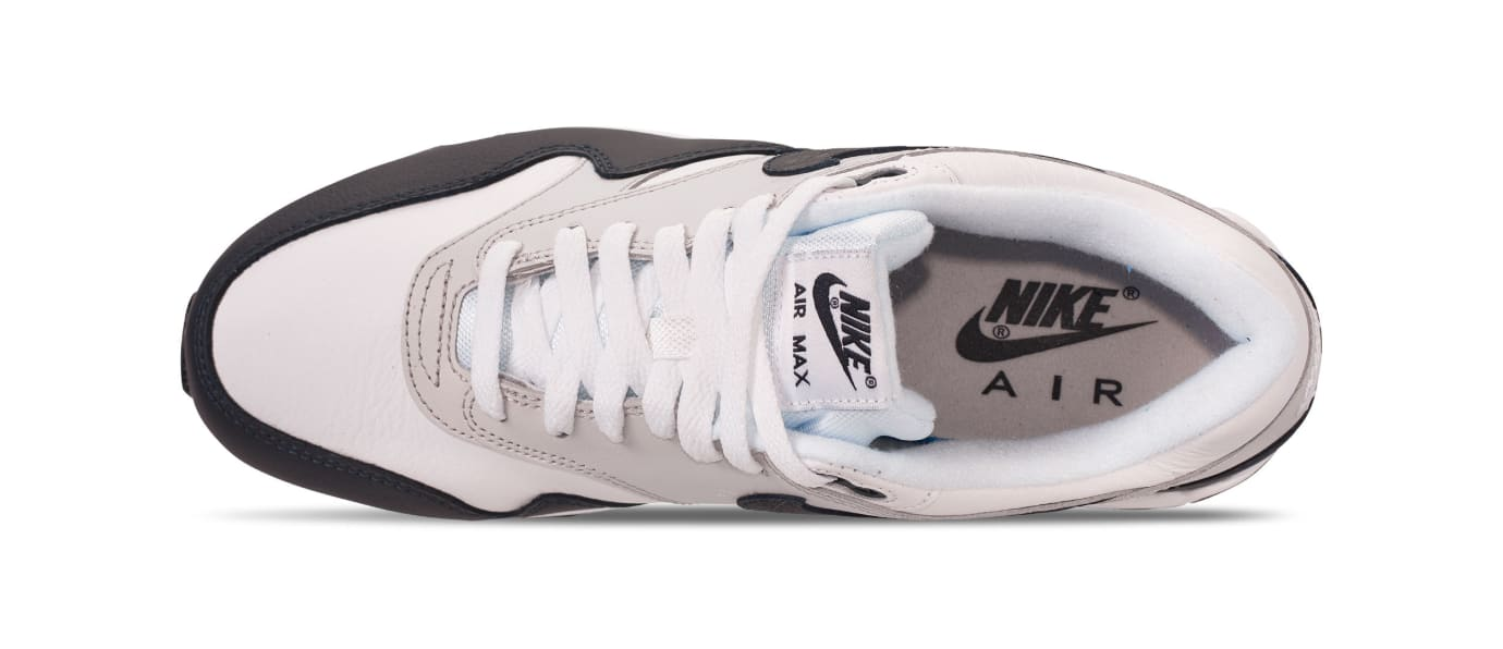 8b0b1e7967c5 Nike Air Max 90 1  White Dark Obsidian-Neutral Grey-Black   White ...