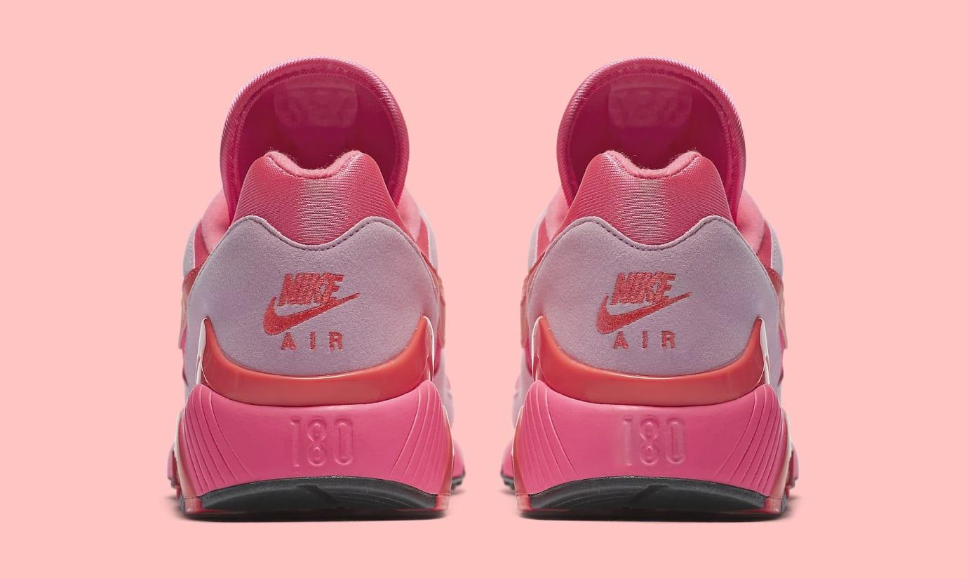 Comme des Garçons x Nike Air Max 180 'Pink' AO4641-602 (Heel)