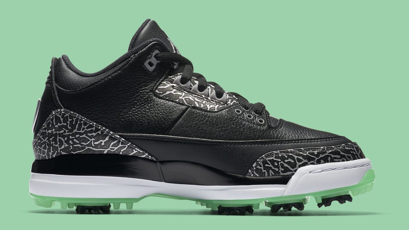 89015a8b048024 Air Jordan 3 Golf Shoes Release Date Summer 2018 AJ3783-001