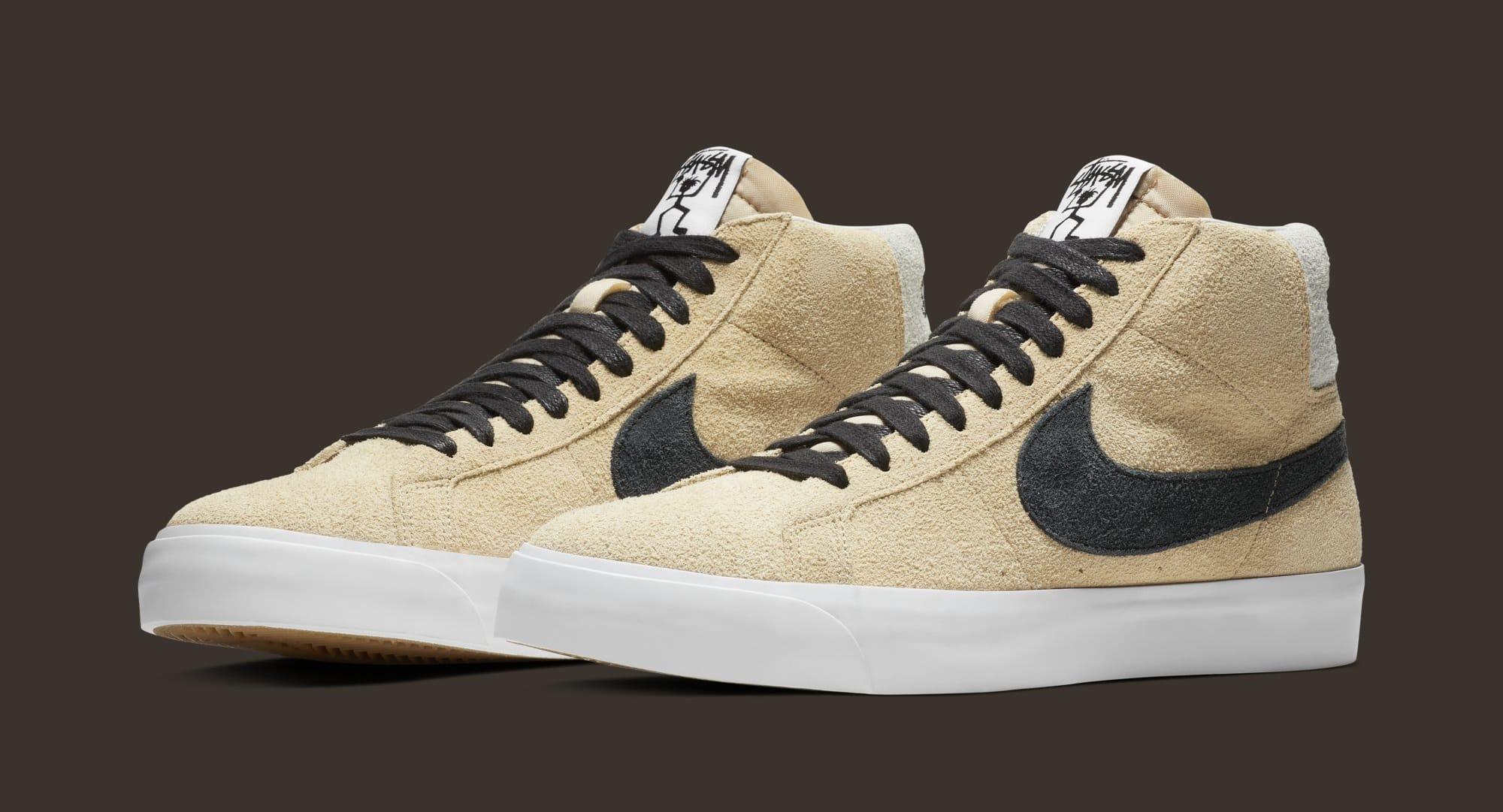 Picasso ellos Sin cabeza  Stüssy x Nike SB Blazer Mid/Low Release Date | Sole Collector