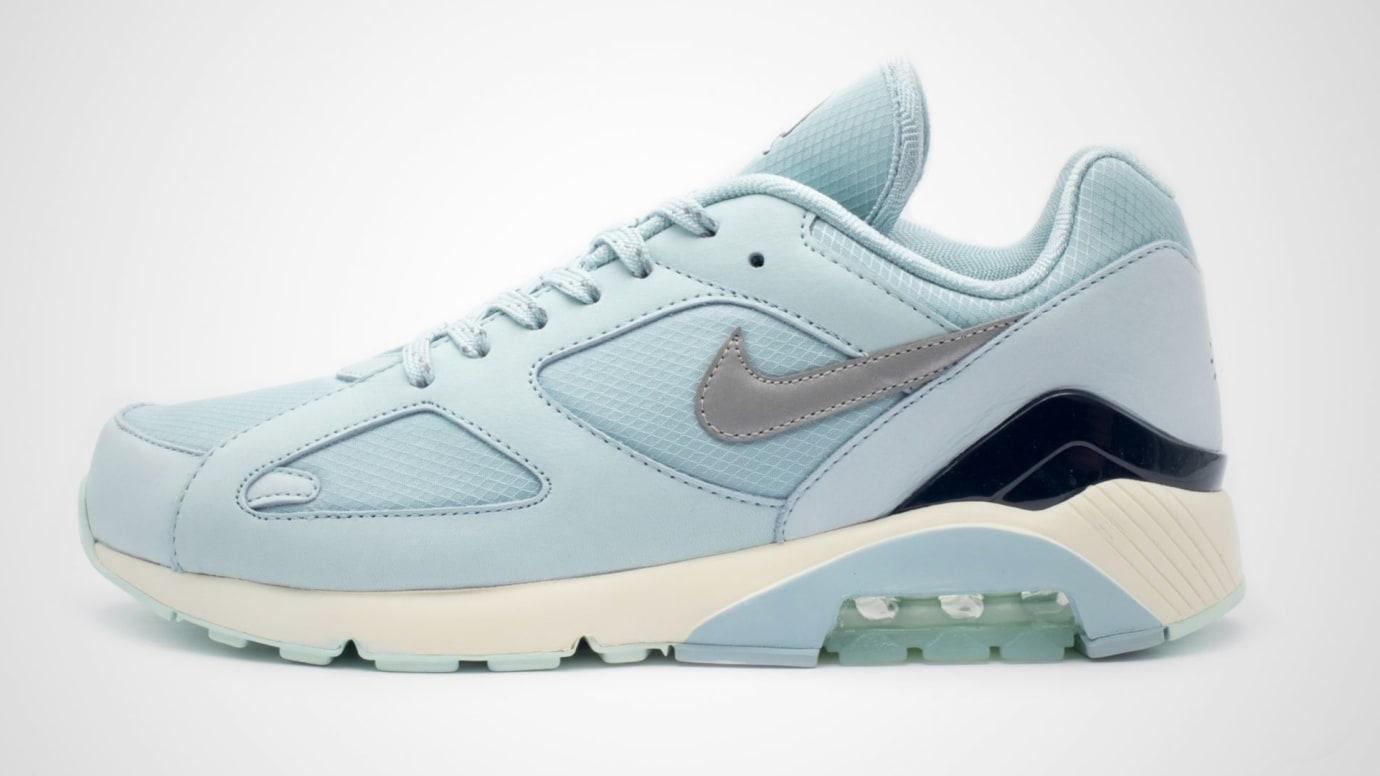competitive price a8796 fda55 Image via 43einhalb Nike Air Max 180  Ice  AV3734-400 (Lateral)