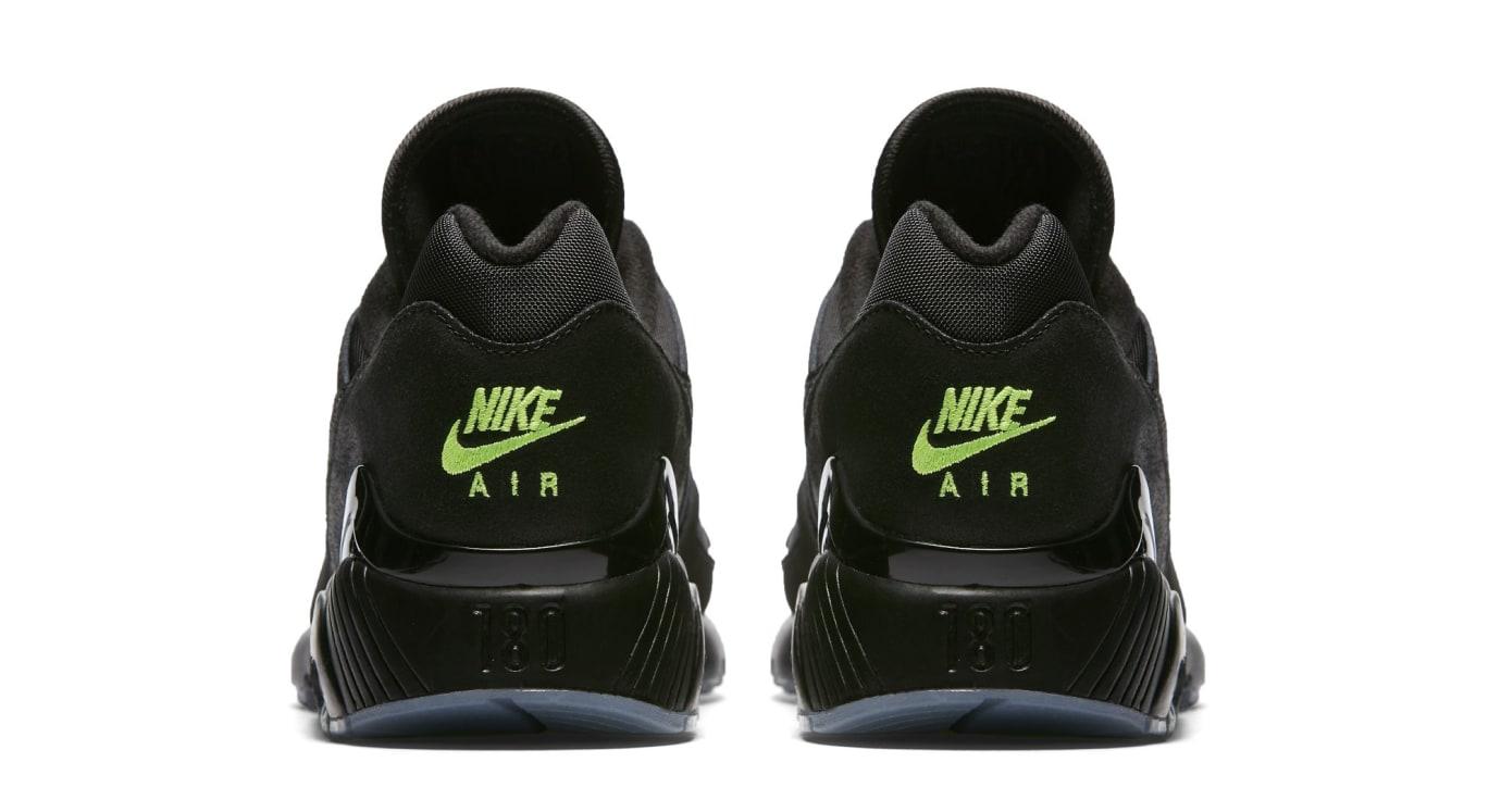 Nike Air Max 180 'Black/Black-Volt' (Heel)