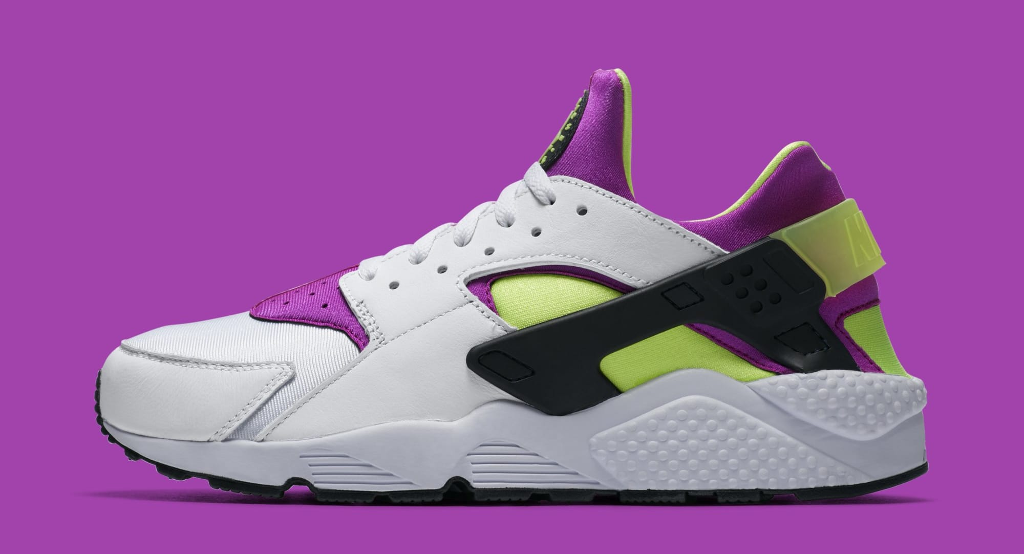 c3844f34171e ... neon yellow and magenta theme. 25176 c5595  top quality nike air  huarache ah8049 101 lateral cff2f 4386c