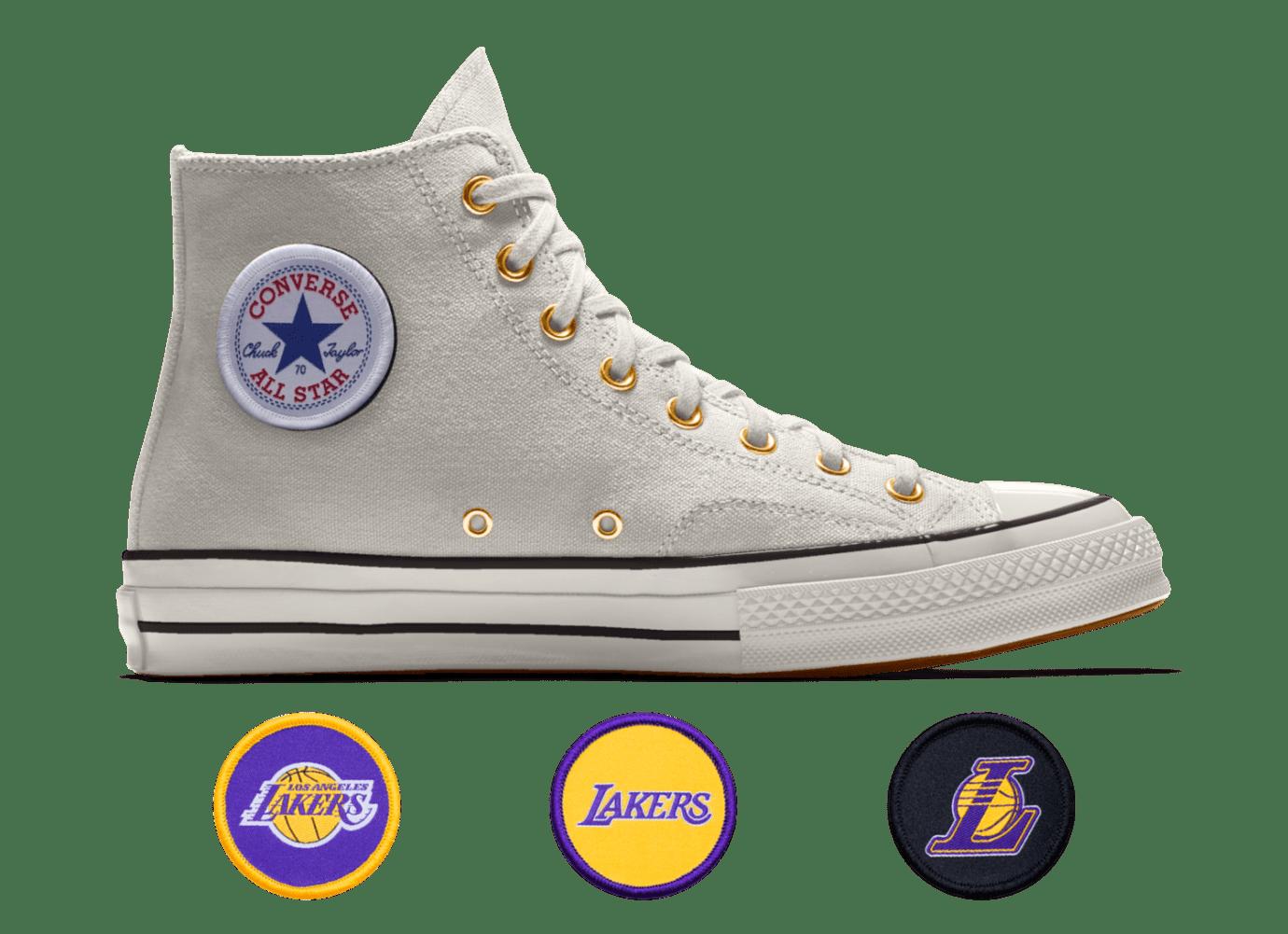 0b52e9ba68d Image via Converse Converse Custom Chuck 70 NBA Los Angeles Lakers