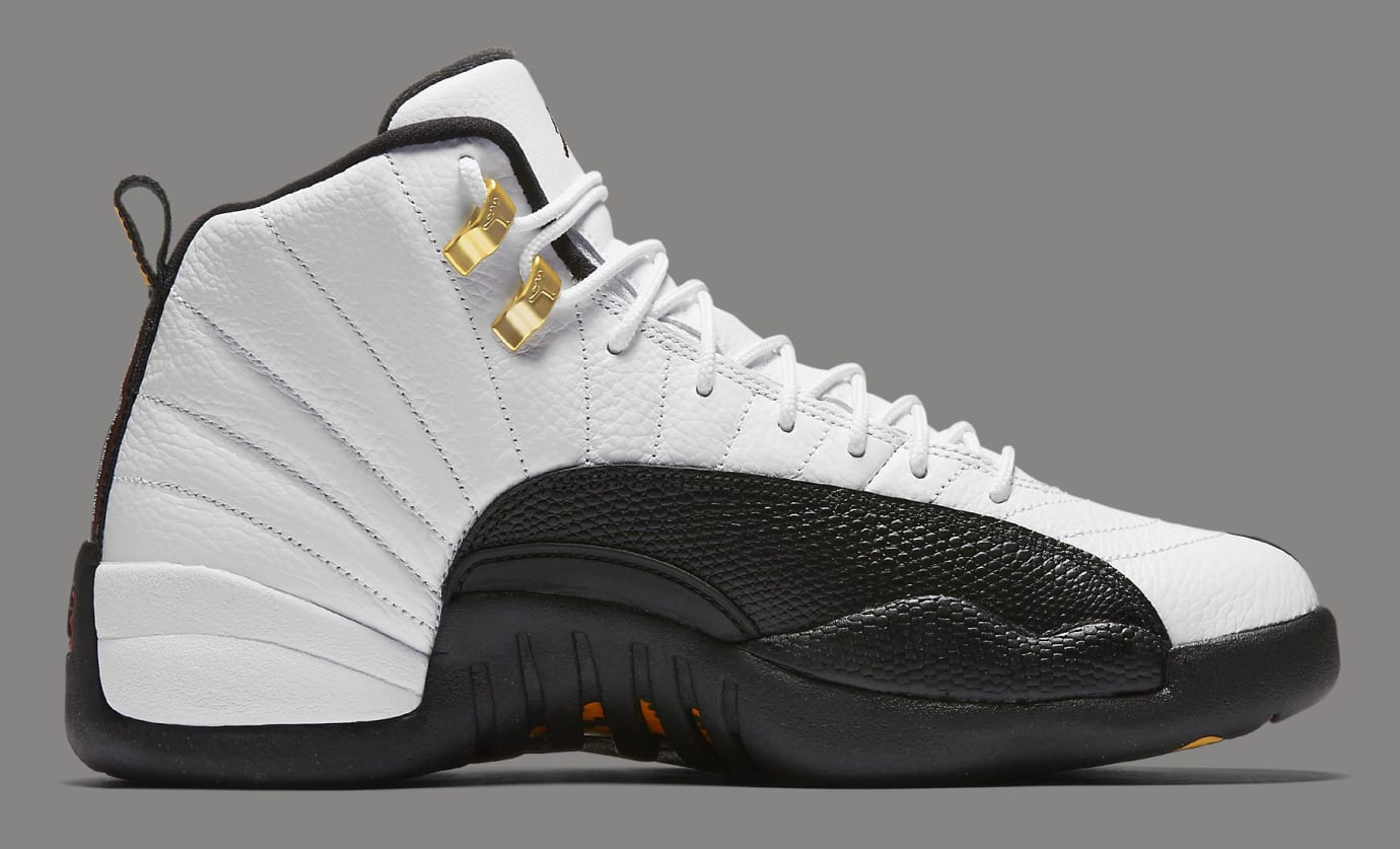 promo code c25b0 4f399 Air Jordan 12 'Taxi' 130690-125 Official Images | Sole Collector