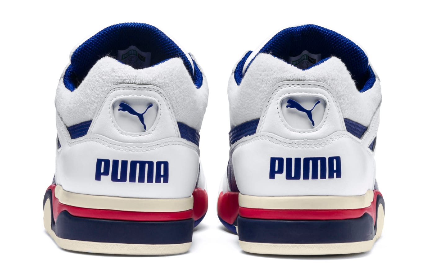 Puma Palace Guard OG 'Puma White/Surf The Web/Red' 369587-01 (Heel)
