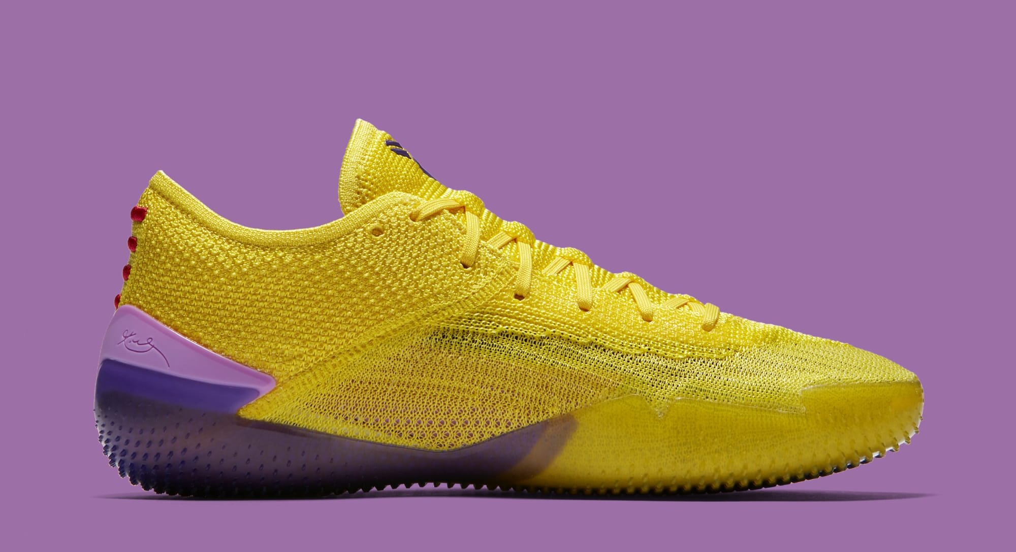 62dcdef66674 Image via Nike Nike Kobe AD NXT 360  Yellow Strike White  AQ1087-100 (Medial