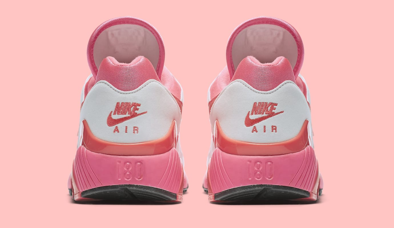Comme des Garçons x Nike Air Max 180 'White' AO4641-600 (Heel)