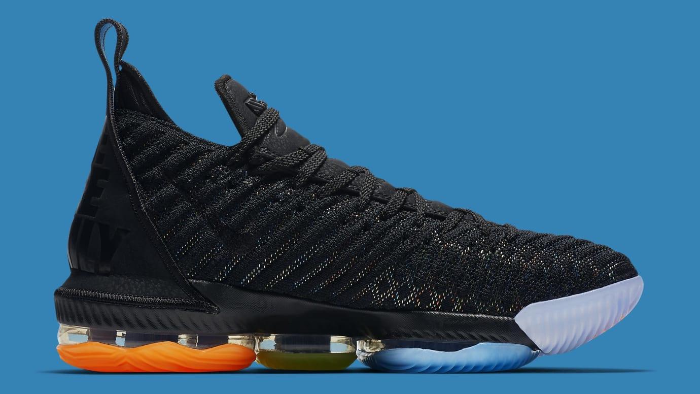 d1246e97bf0 Image via Nike Nike LeBron 16 I Promise Release Date AO2595-004 Medial