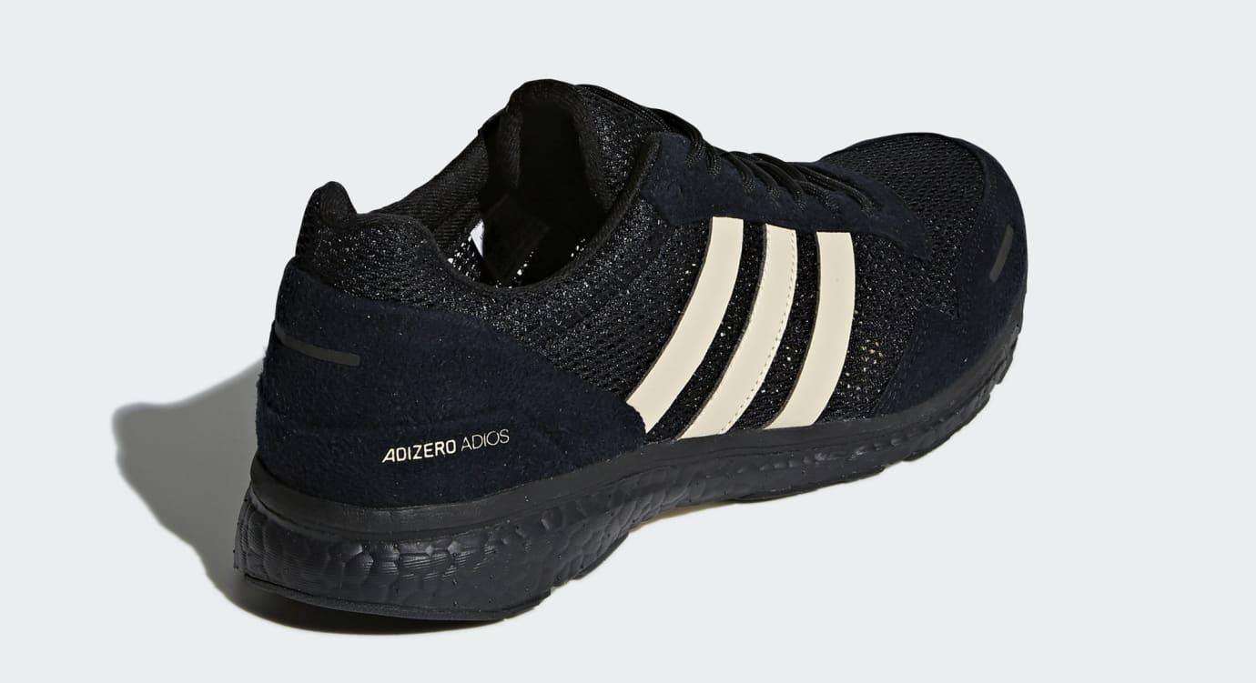 best service 7b739 3b0f8 Image via Adidas Undefeated x Adidas Adizero Adios 3 B22483 (Heel)