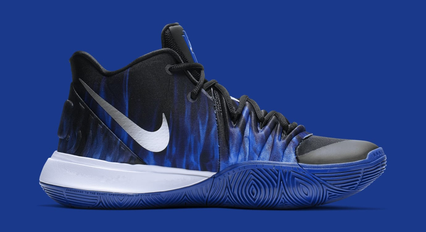 cheap for discount 86cd2 2b99a Image via Nike Nike Kyrie 5  Duke  CI0306-901 (Medial)