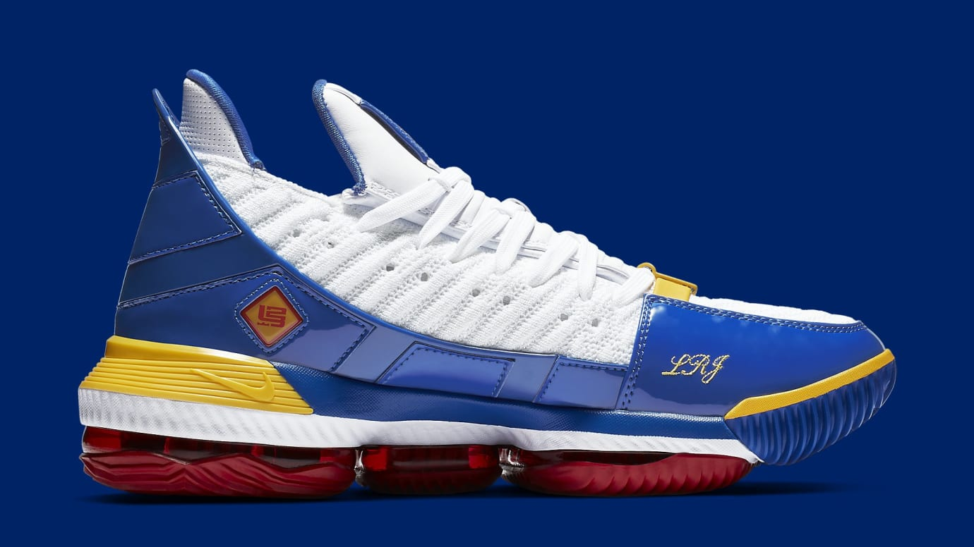 best service 16f58 fd675 Image via Nike nike-lebron-16-superbron-lebron-watch-cd2451-100-