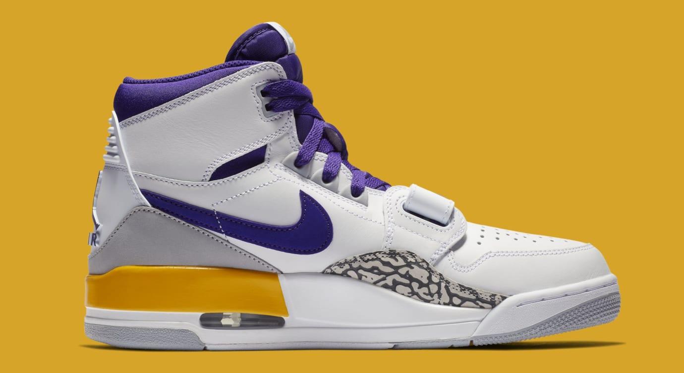 Jordan Legacy 312 'White/Field Purple-Amarillo' AV3922-157 (Medial)