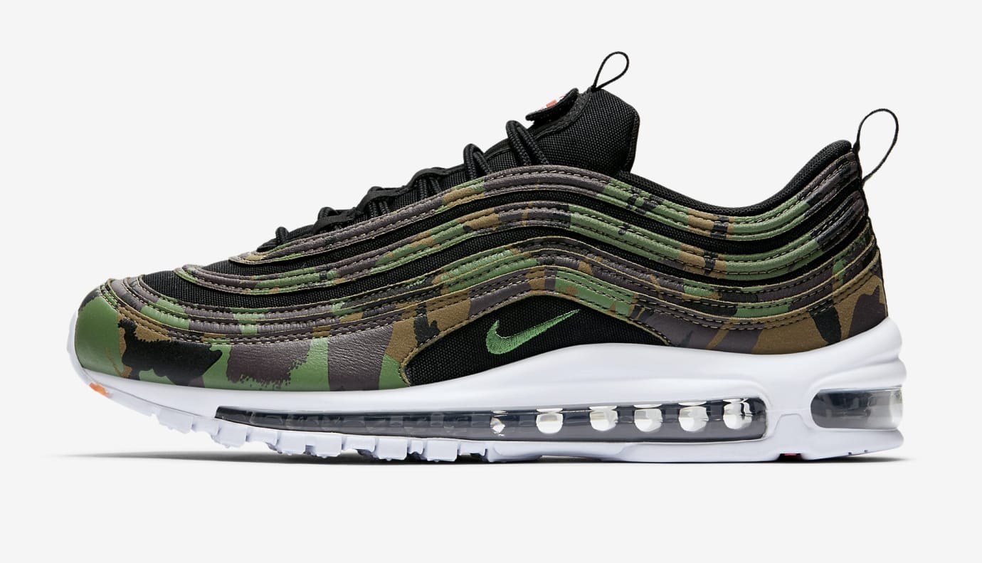 Nike Air Max 97 'Country Camo' UK AJ2614-201 (Lateral)