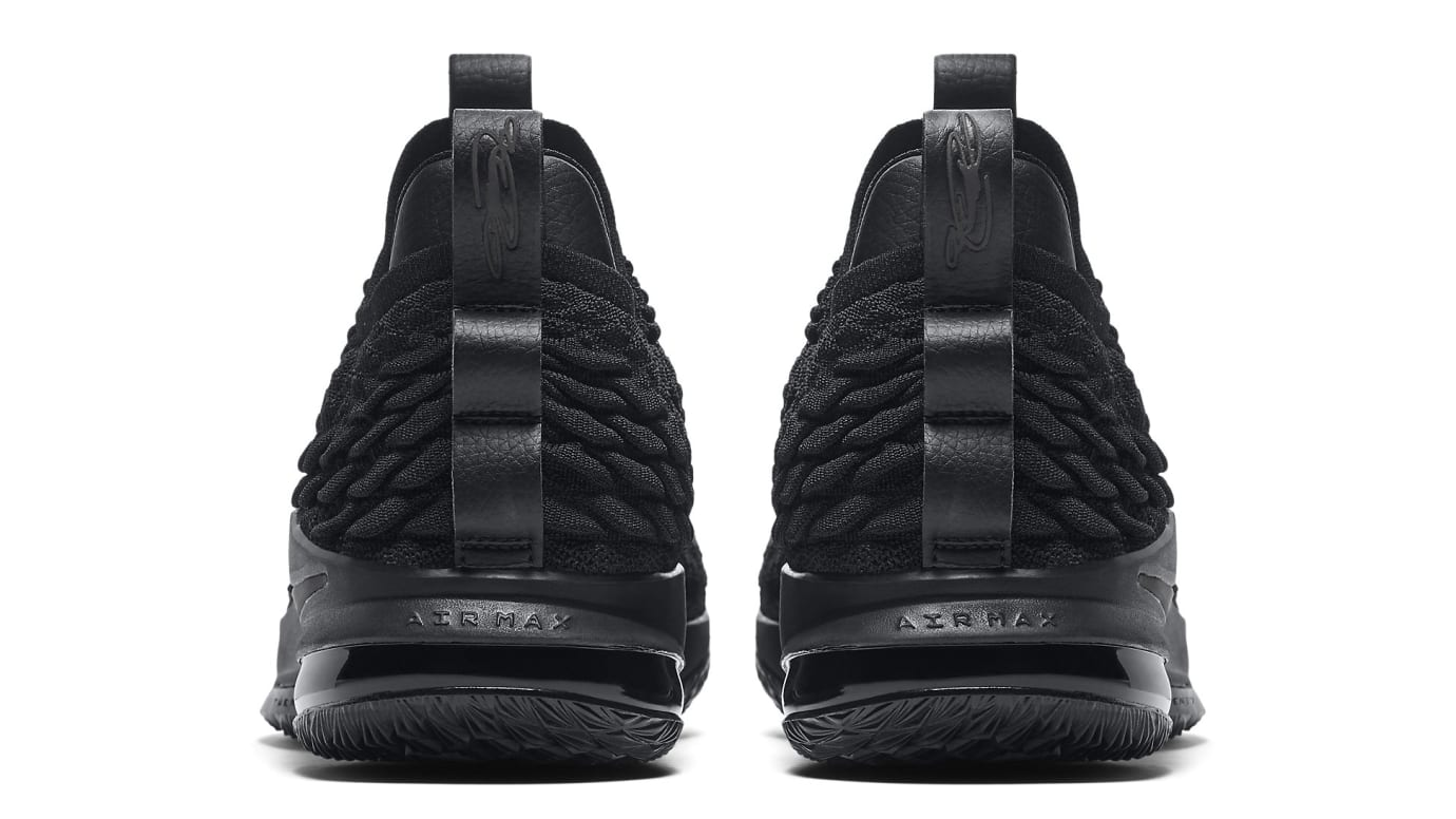 d0542f5d7c9 Nike LeBron 15 Low  Triple Black  Release Date Aug. 2018 AO1755-004 ...