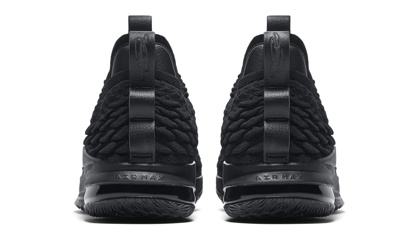 4329d245e479 Nike LeBron 15 Low  Triple Black  Release Date Aug. 2018 AO1755-004 ...