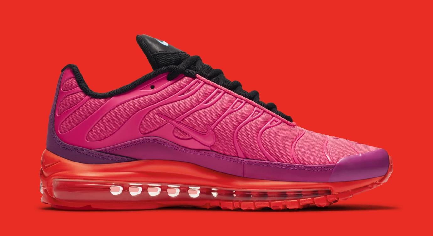 693623c0cc Image via Nike Nike Air Max 97 Plus 'Hyper Magenta' AH8144-600 (Medial)
