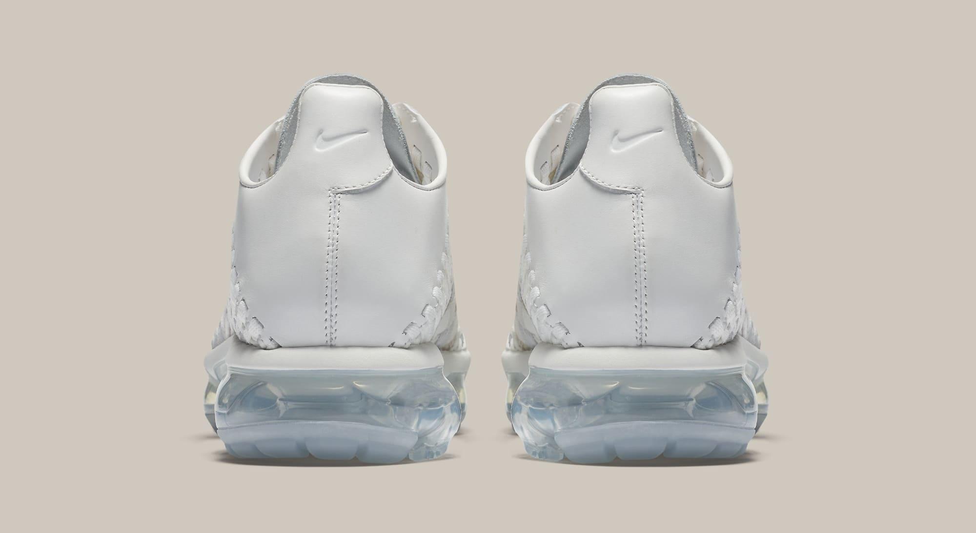 3ecf7f0730d Image via Nike Nike Air VaporMax Inneva  Summit White Glacier Blue  AO2447- 100 (Heel