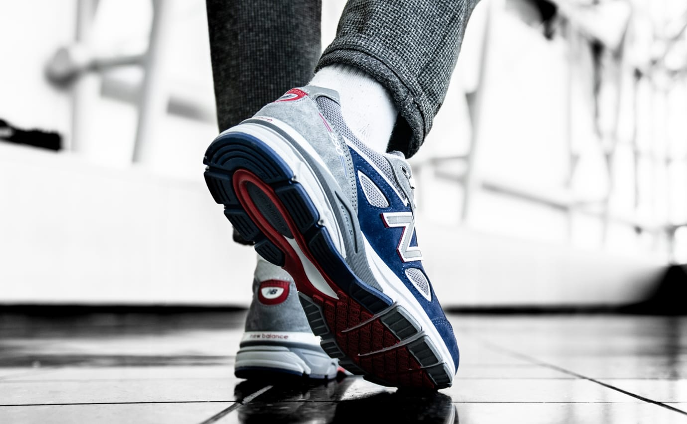 DTLR/Villa x New Balance 990 (On-Foot Heel)