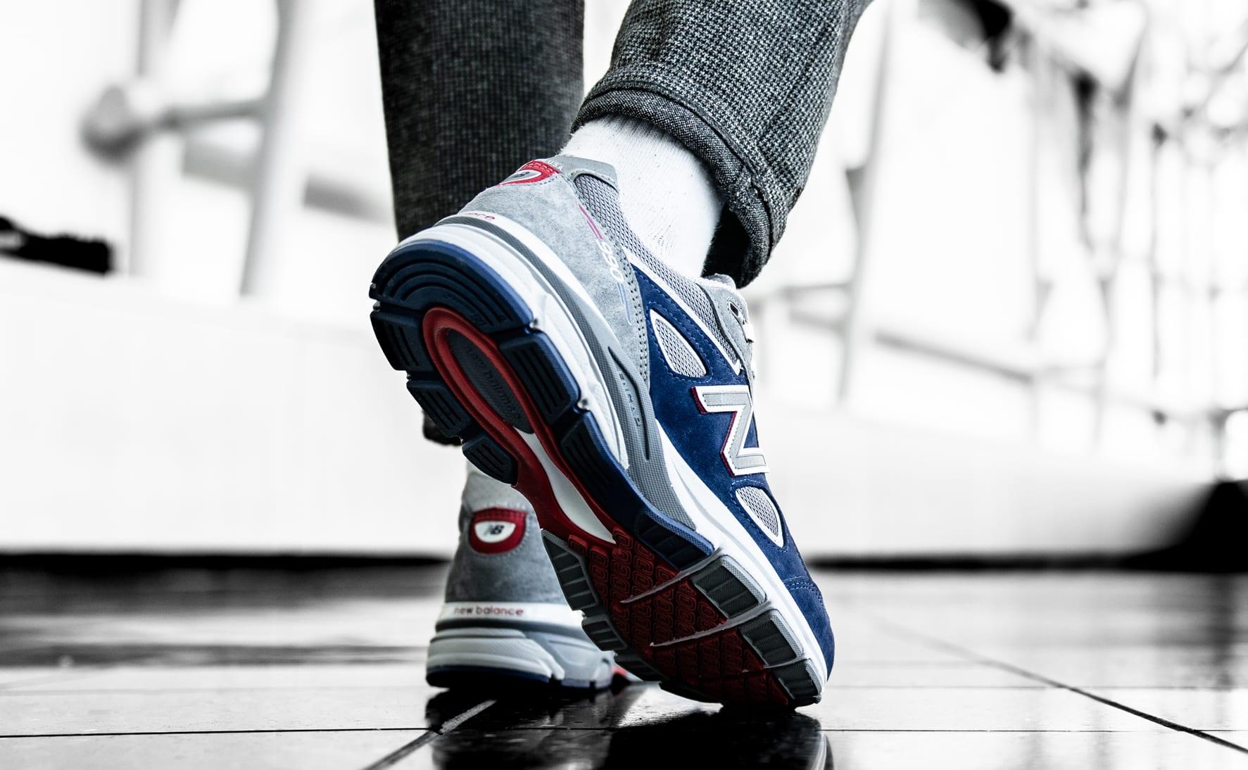 DTLR/Villa x New Balance 990 (On-Foot Heel)