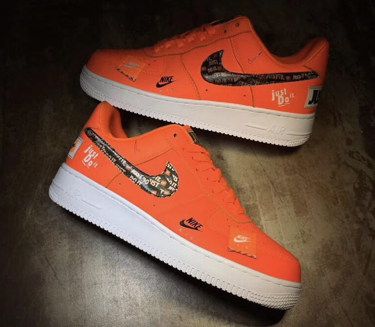 Nike Air Force 1 'Just Do It' Pack (Pair)