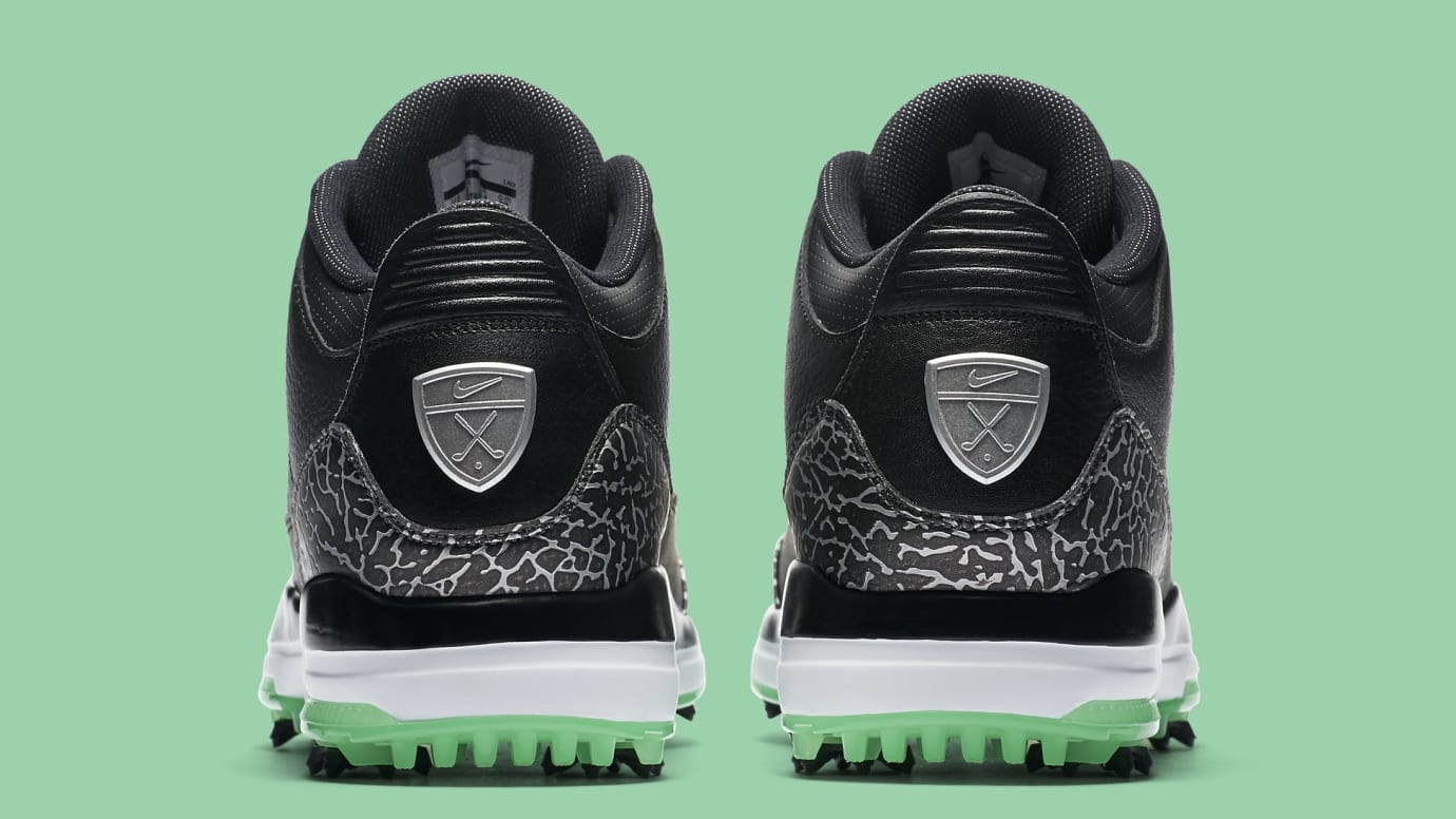 size 40 c36aa 41be0 Image via Nike air-jordan-3-golf-black-green-glow-release-