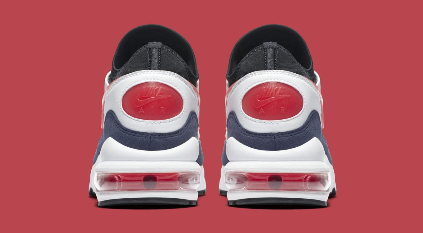 quality design cce09 4c423 Nike Air Max 93 'Flame Red' White/Habanero Red-Neutral Indigo-Black ...