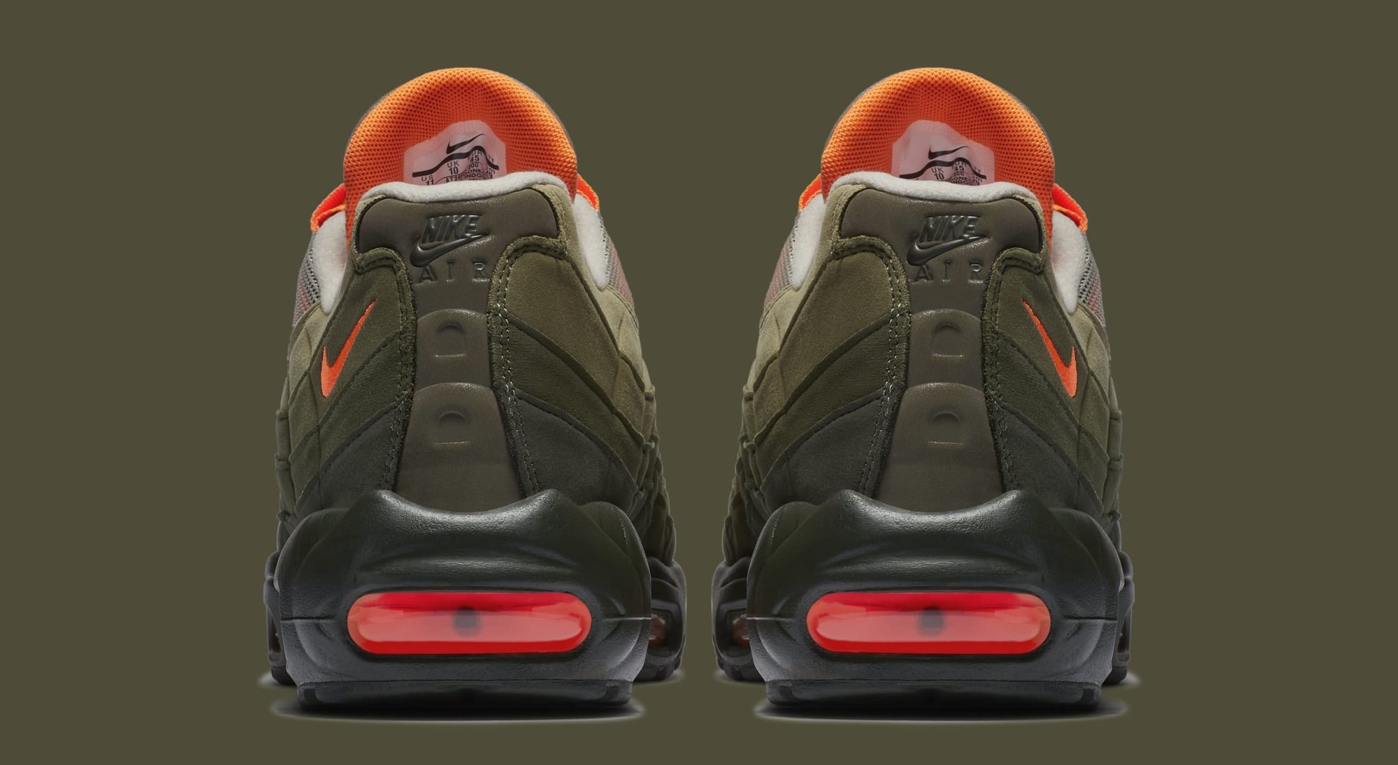 Nike Air Max 95 OG 'String/Total Orange/Neutral Olive' AT2865-200 (Heel)