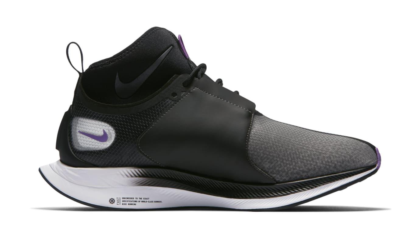 Nike Zoom Pegasus Turbo XX 'Black/Bright Violet' WMNS AR4347-001 (Medial)