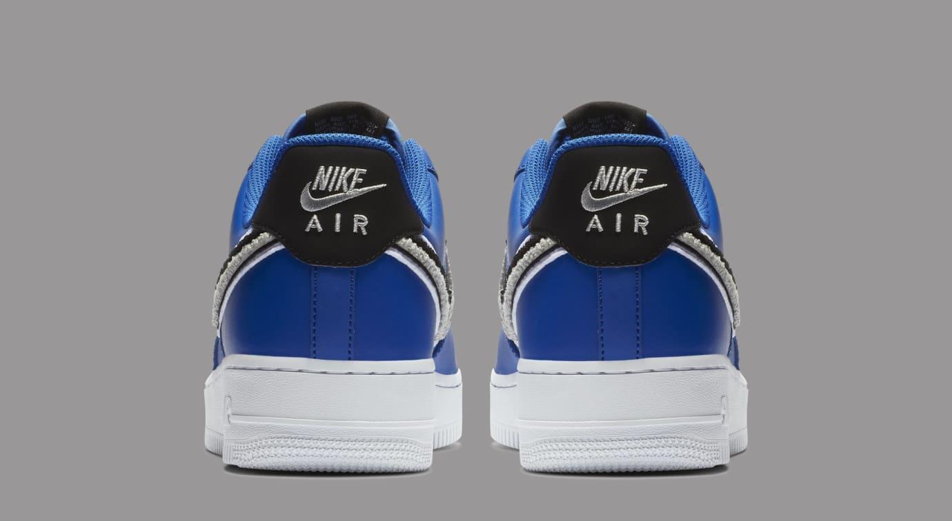 Nike Air Force 1 Low 3D Swoosh 823511-409 (Heel)