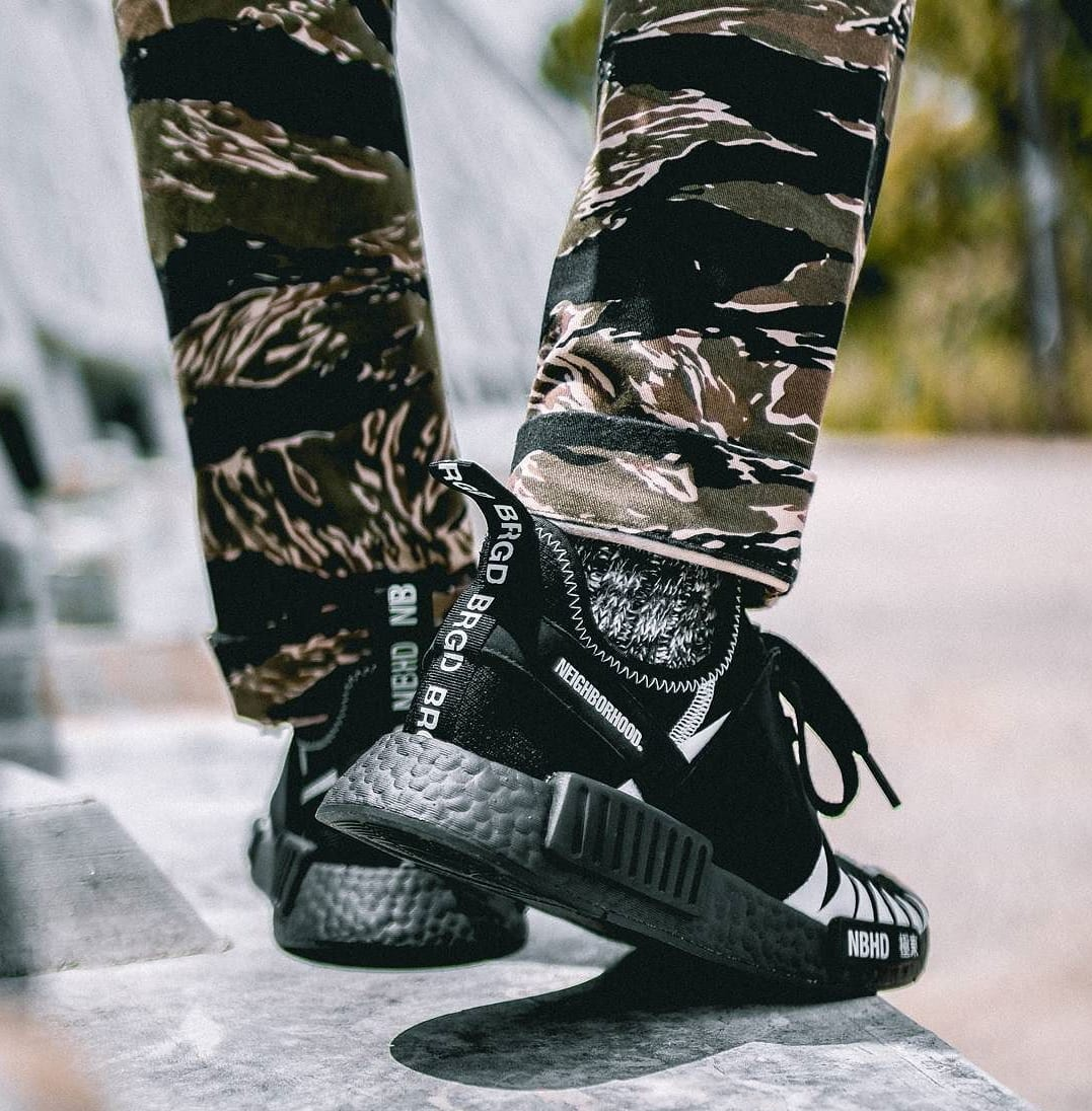 Neighborhood x Adidas NMD On-Foot (2)