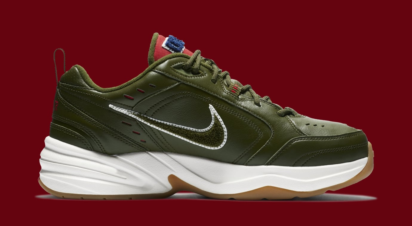 best website f6d85 dbb32 Image via Nike Nike Air Monarch 4  Weekend Campout  AV6676-300 (Medial)