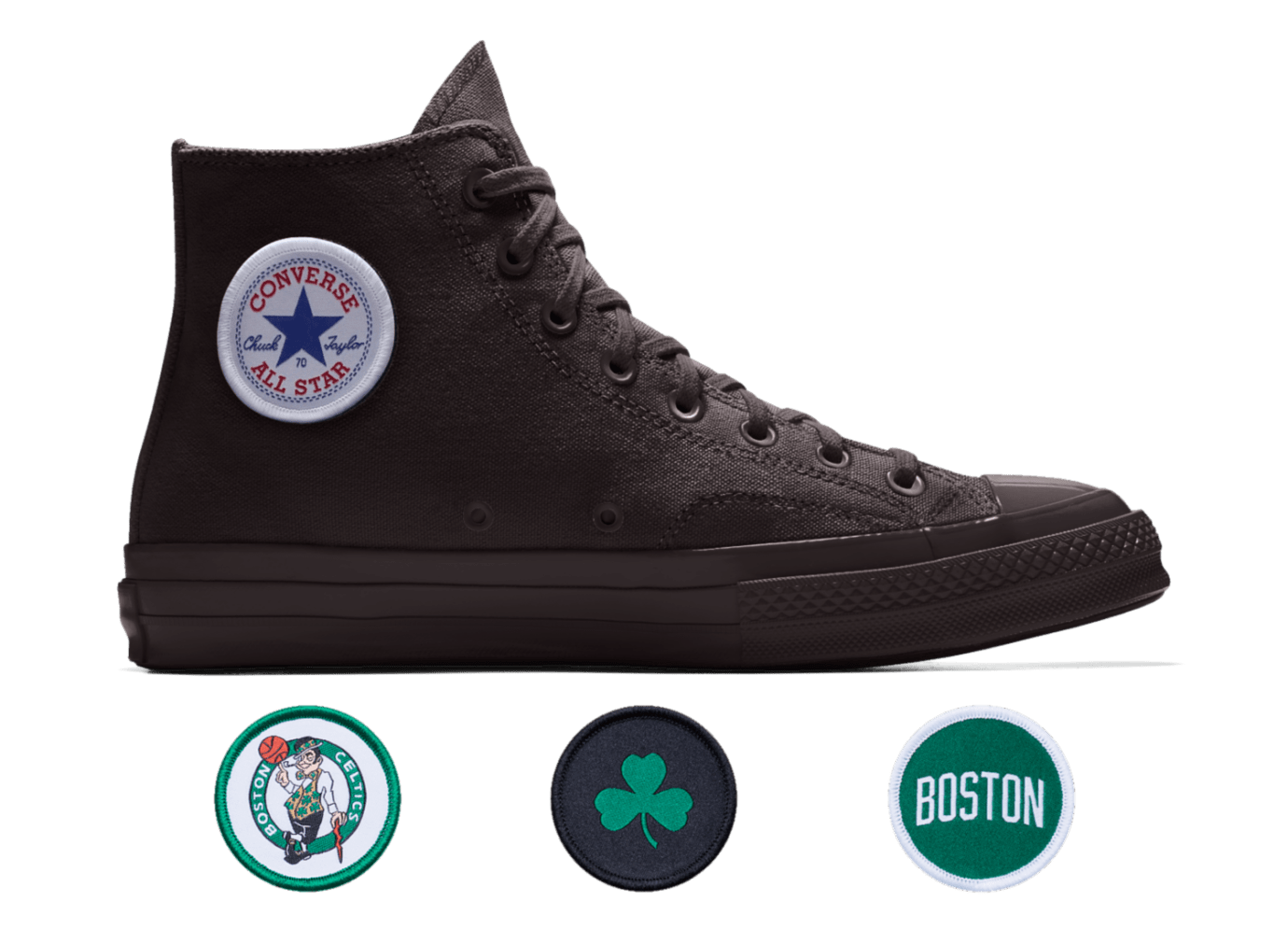c711b5fc7401 Converse Custom Chuck 70 NBA Boston Celtics