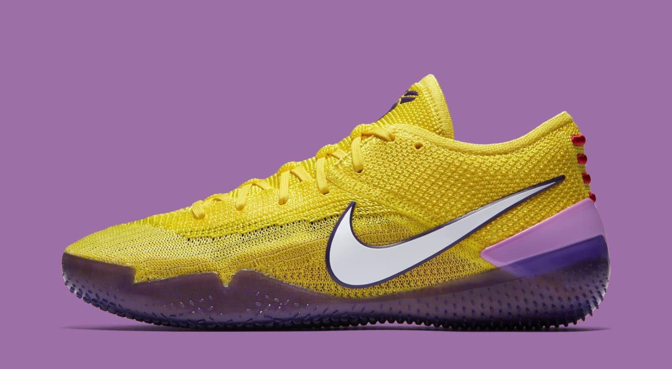 8559307bae1 Nike Kobe A.D. NXT 360  Yellow Strike White  AQ1087-100 Release Date ...