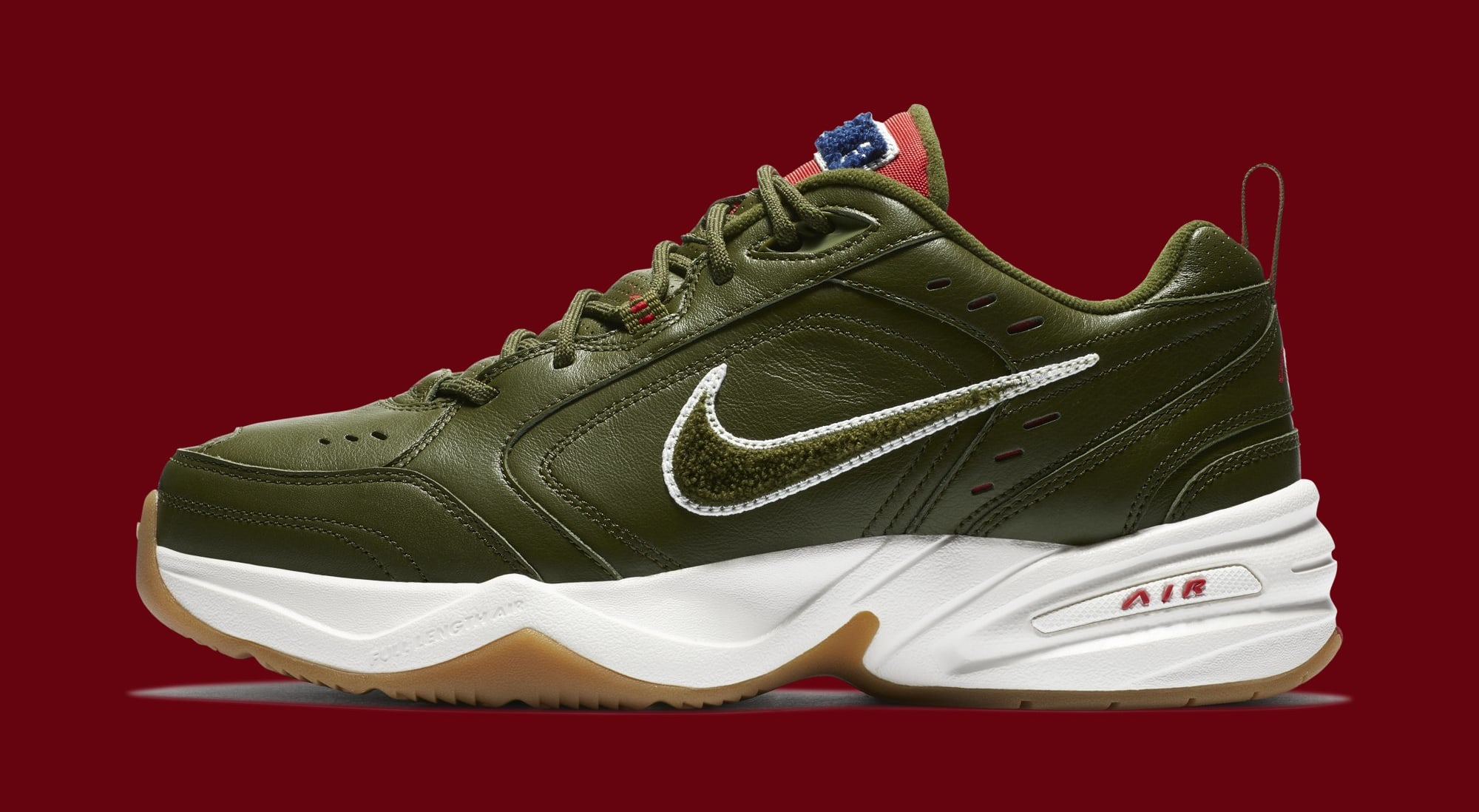 Nike Air Monarch 4 'Weekend Campout' AV6676-300 (Lateral)