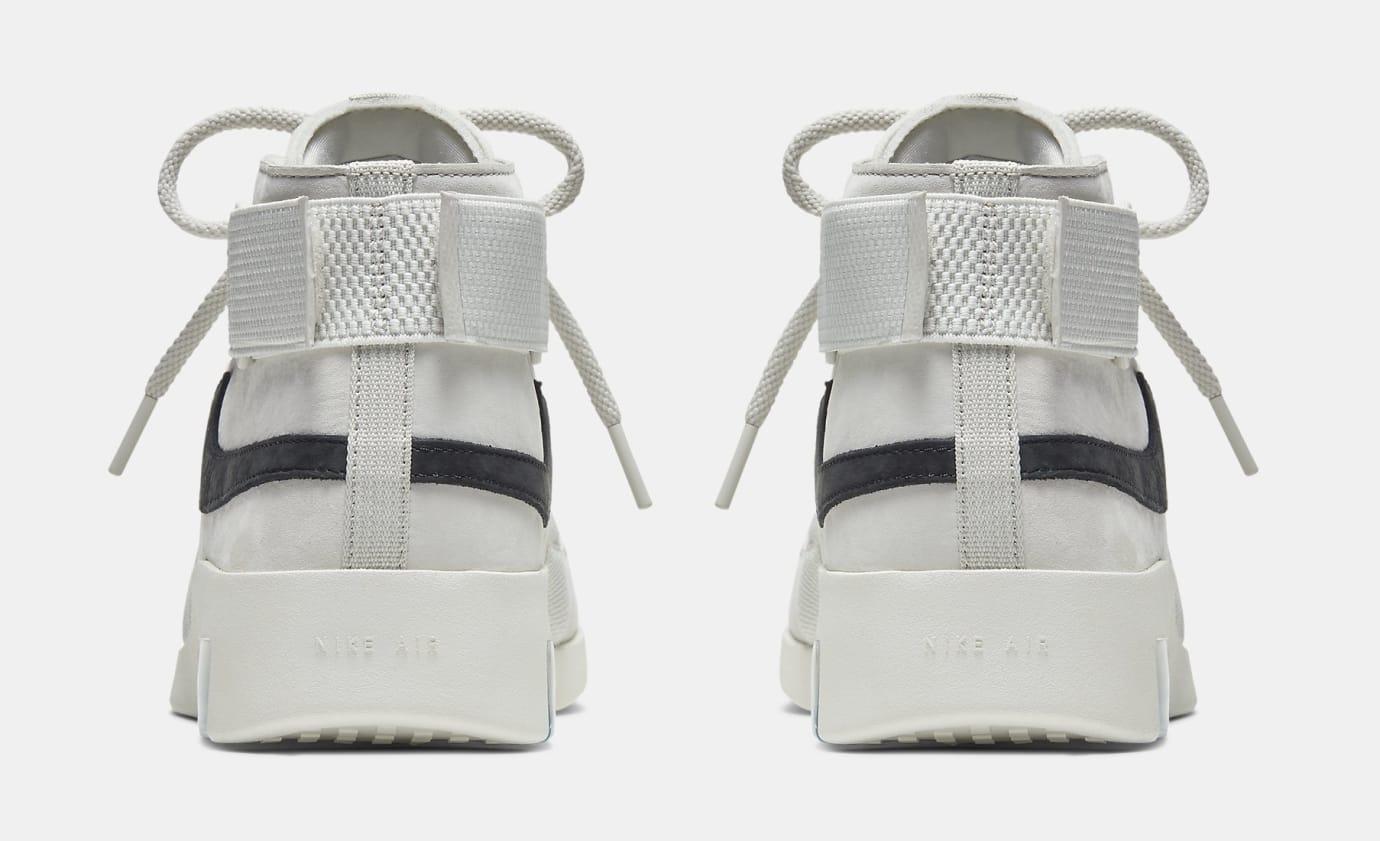 Nike Air Fear of God 180 'Grey' AT8087-001 Heel