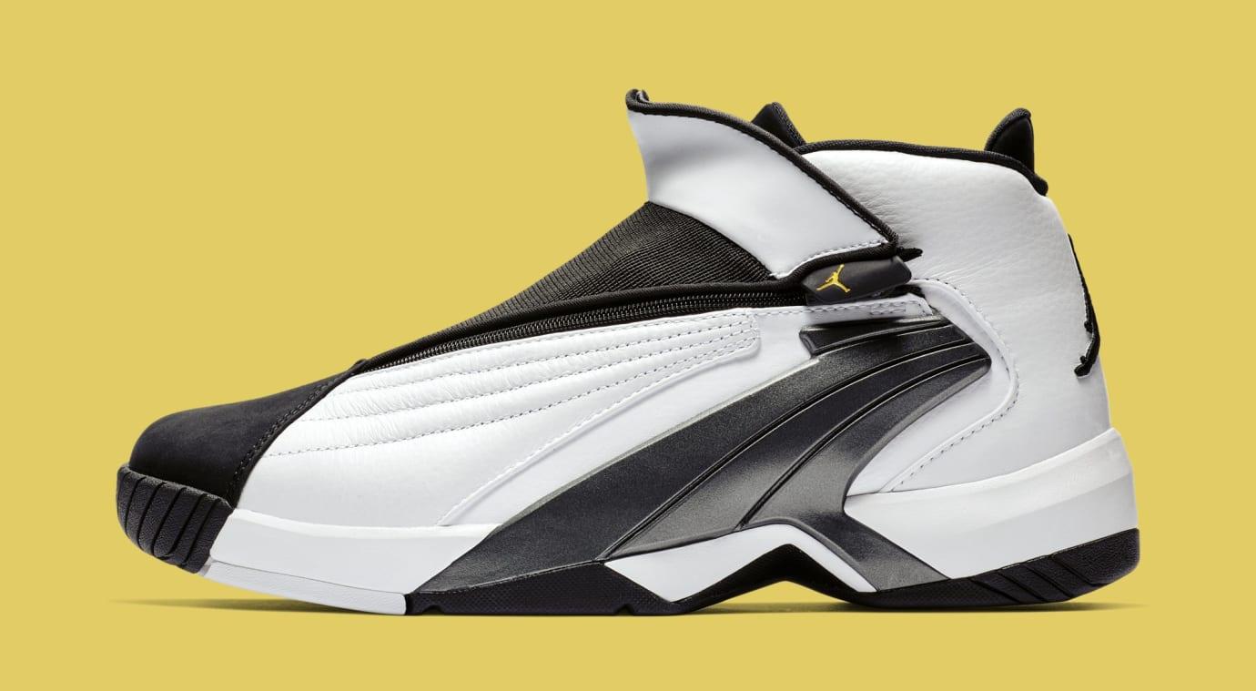 Jordan Jumpman Swift 'White/Black/Tour Yellow' AT2555-100 (Lateral)