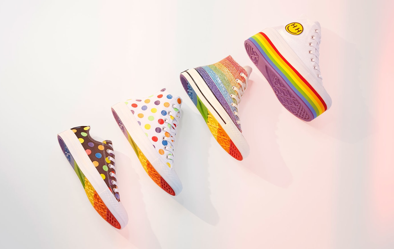 Miley Cyrus x Converse Pride Collection 2018 (Group)