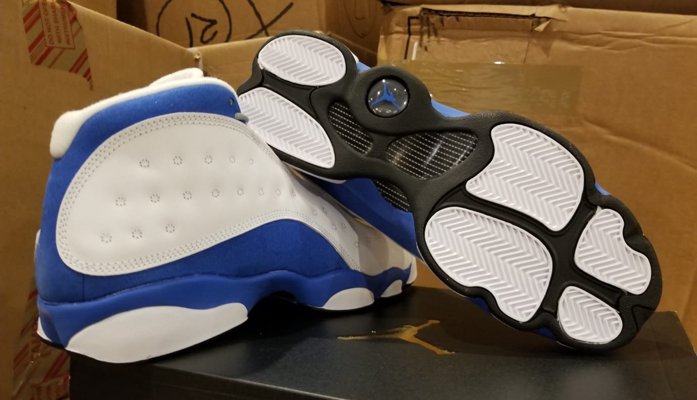 outlet store 8671b 3b3a0 Air Jordan 13 XIII GS Italy Blue Release Date 439358-107 ...