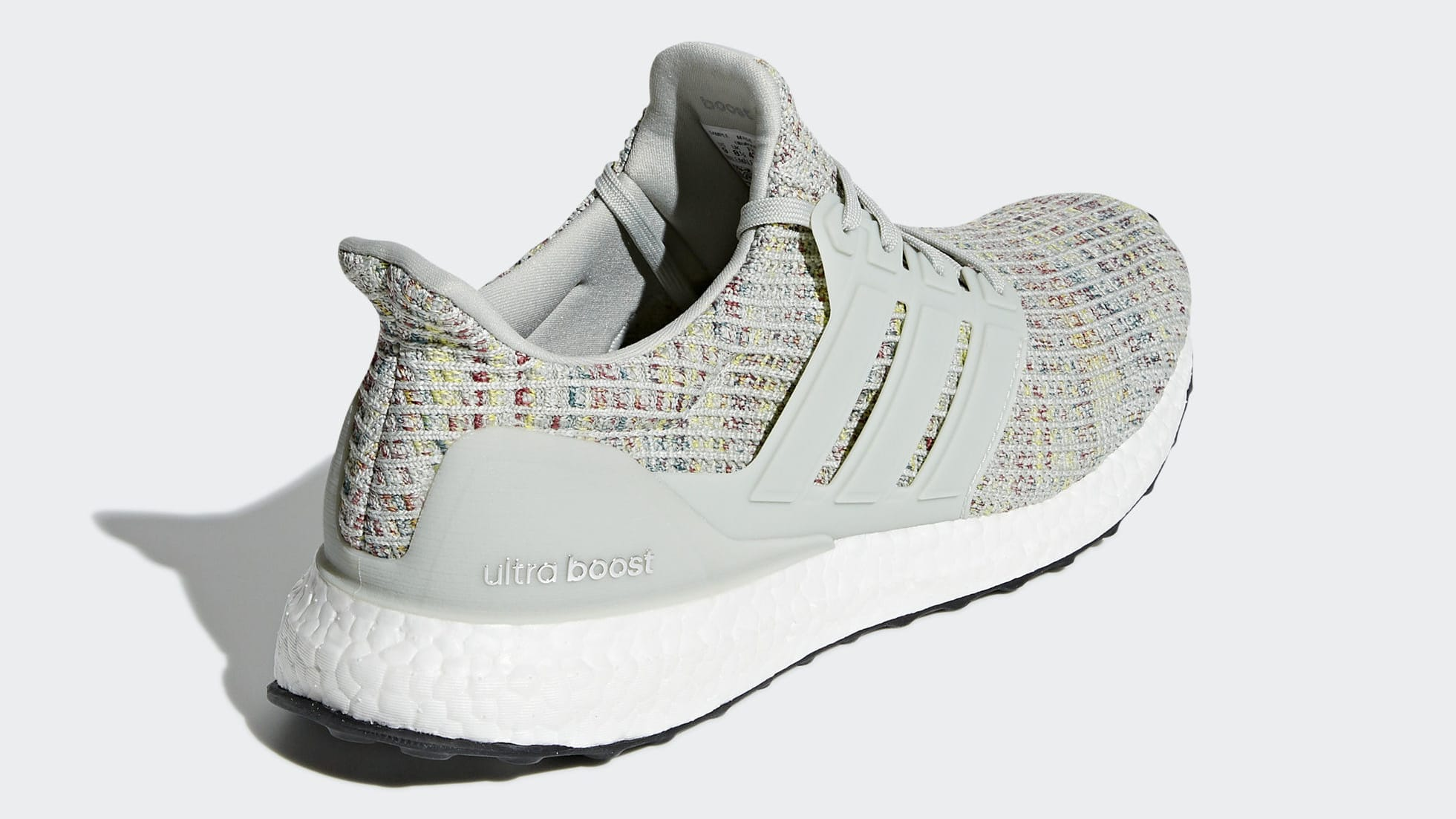 Adidas Ultra Boost 4.0 Show Your Stripes Cloud White Tech Ink Ash