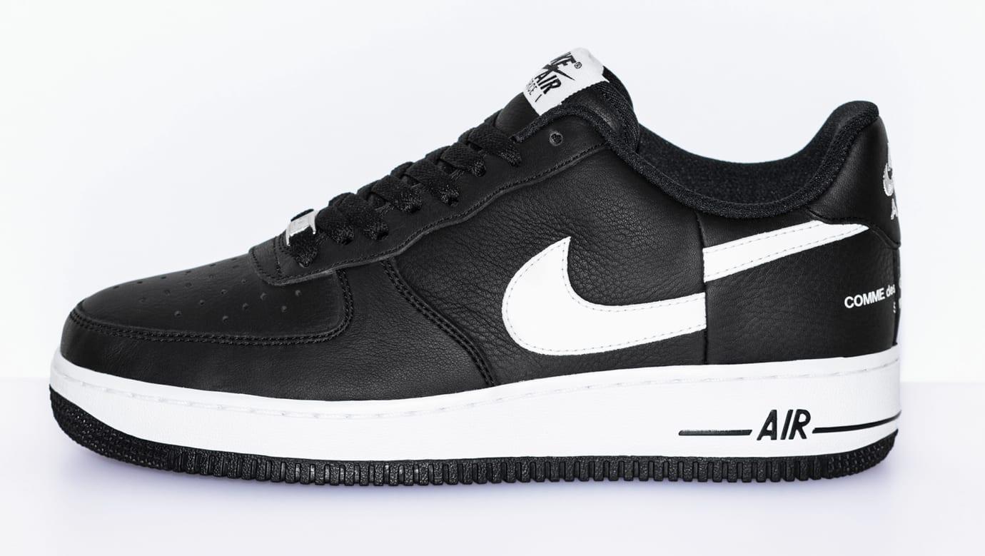 Image Via Supreme Comme Des Garçons X Nike Air Force 1 Low 2