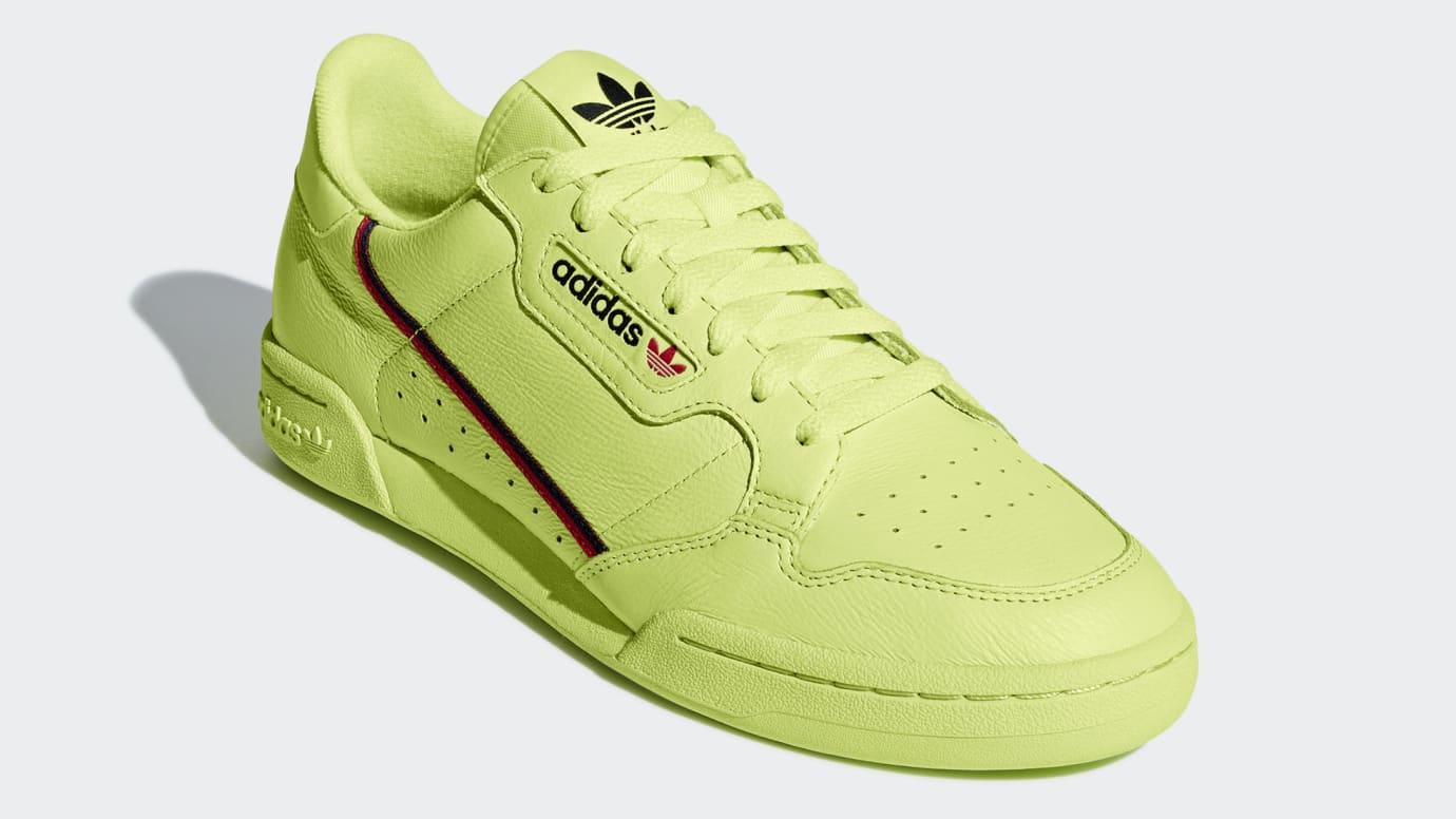 Adidas Continental 80 'Semi Frozen Yellow' B41675