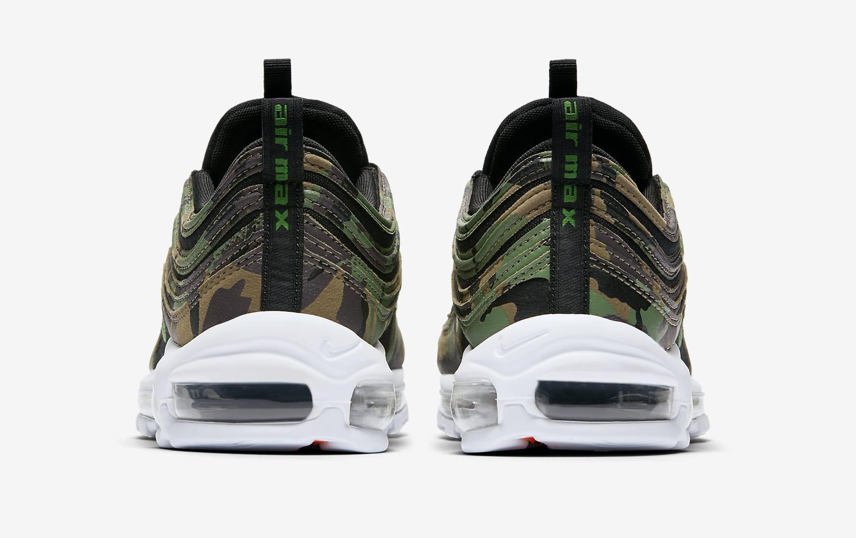 Nike Air Max 97 'Country Camo' UK AJ2614-201 (Heel)
