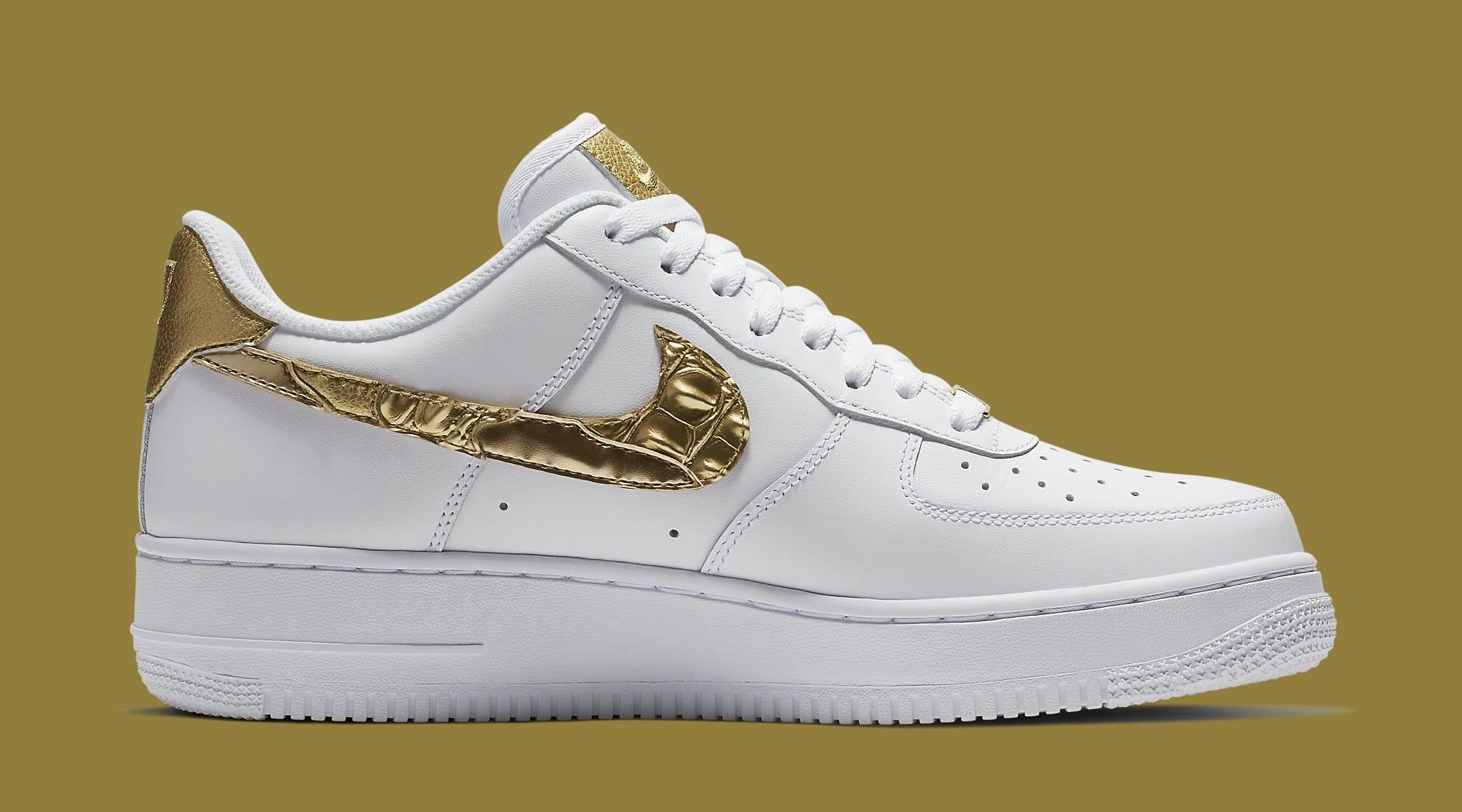 2018 Nike Air Force 1 Cristiano Ronaldo White AQ0666 100