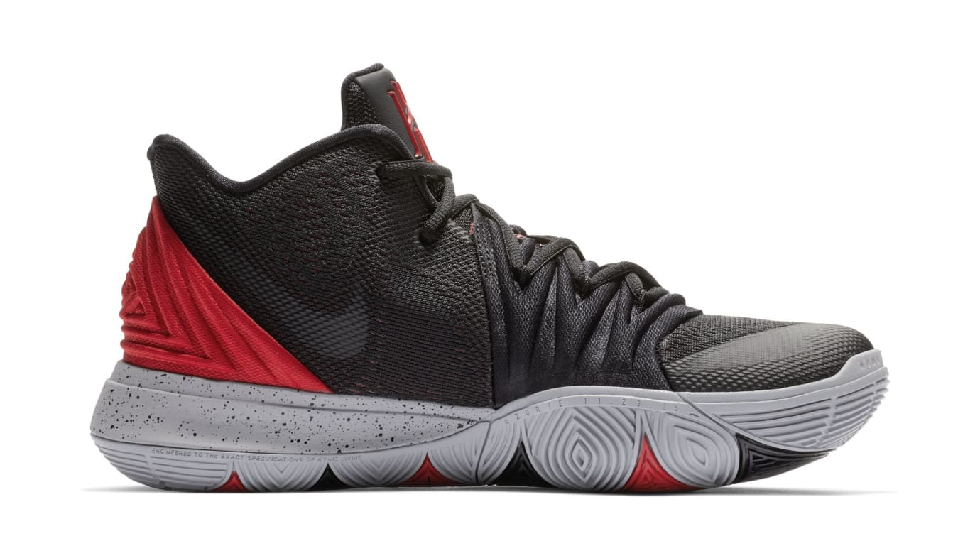 Nike Kyrie 5 'University Red/Black' AO2919-600 (Medial)