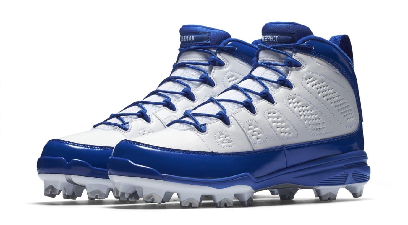 Air Jordan 9 IX MCS Baseball Cleats Royal